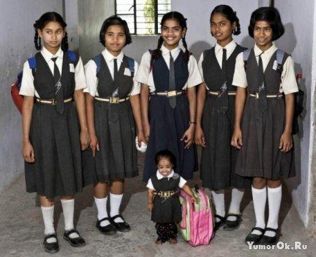 Самая маленькая школьница в мире - Jyoti Amge
