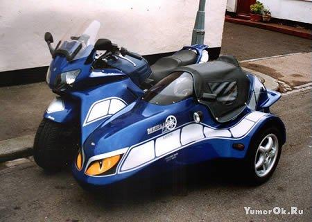 Тюнинг трёхколесных мотоциклов