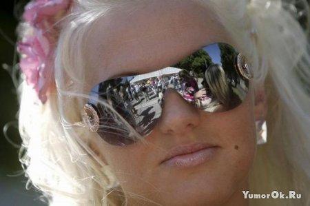 В Риге прошел день блондинки