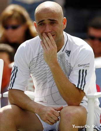 Чемпионы тоже плачут