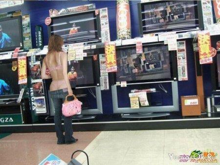 Новая мода у китайских девушек