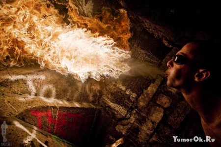 Фотографии с огнем