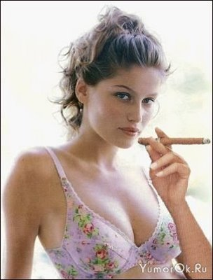 Известные женщины и сигары