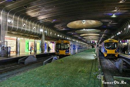 Необычное метро