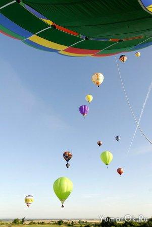 Фестиваль воздушных шаров во Франции 2009