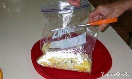 Как быстро сделать омлет