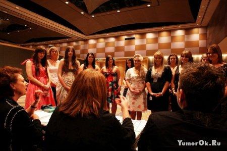 Конкурс красоты среди полных девушек