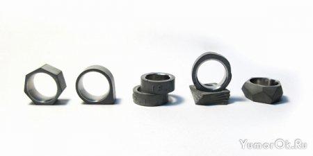 Кольца из цемента и стали