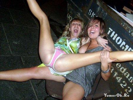 Пьяные дефки