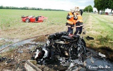 Аварии спортивных машин