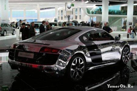 Chrome Audi R8 5.2 V10