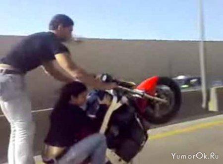 Экстрим на мотоциклах