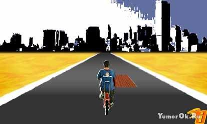 Прогулка на велосипеде (walk on bicykle)