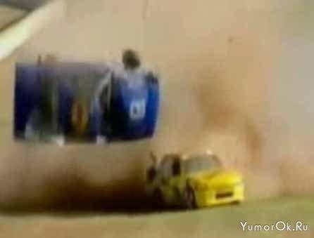Нарезка аварий на гоночных трассах