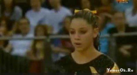 Ужас на соревнованиях по гимнастике