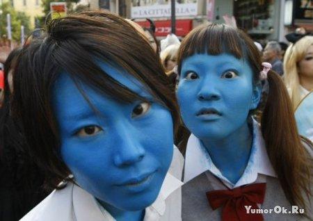 Япония отпраздновала хеллоуин