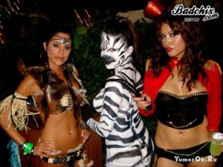 Девочки на праздниках