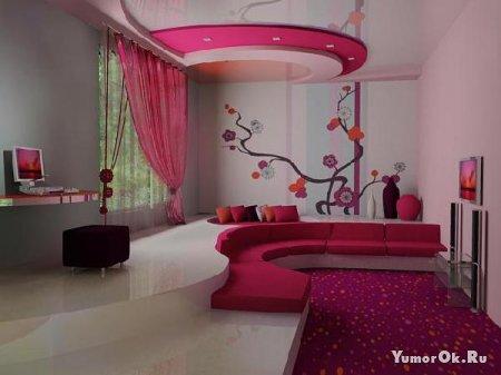 Креативные спальни
