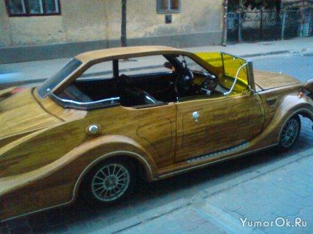 Авто из дерева