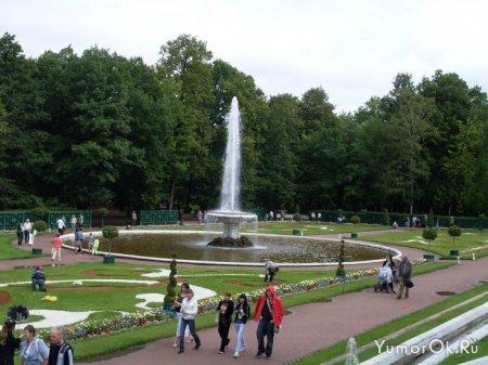 Петергофские фонтаны