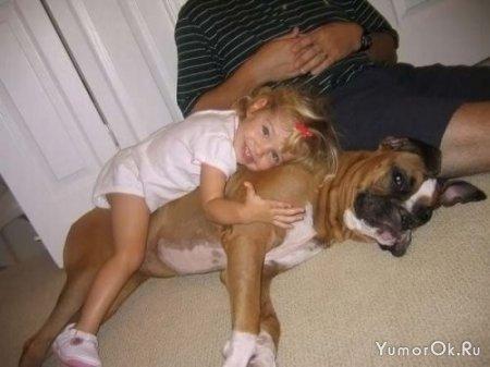 Малыши и животные