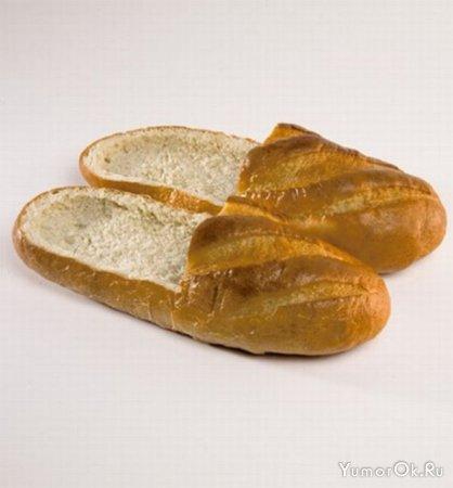 Хлебные тапочки