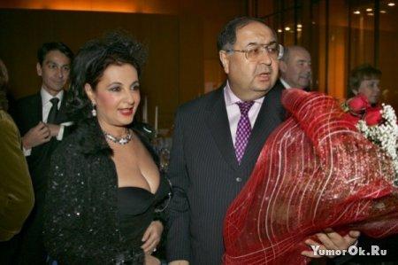 Олигархи со своими дамами