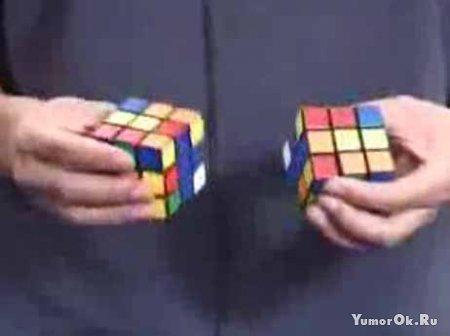2 кубика рубика за минимальное время