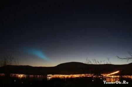 Норвегия. Явление в небе
