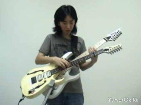 Мелодия из игры Марио на гитаре
