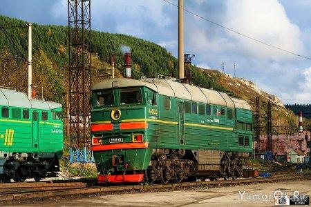 Отечественные поезда