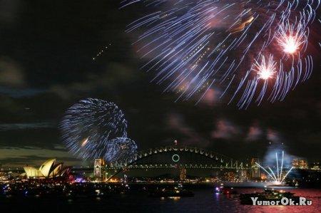 Новый Год, как его встречали в мире