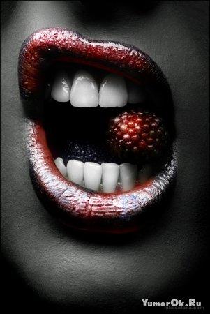 Сладкие женские губки