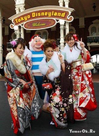 Японочки по взрослели