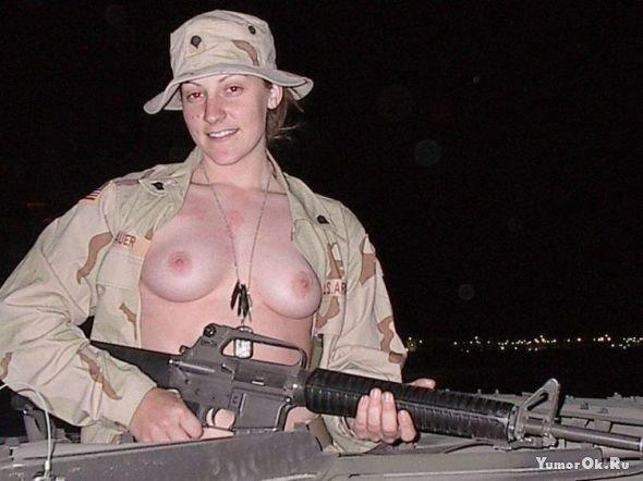 фото голых девушек армии сша