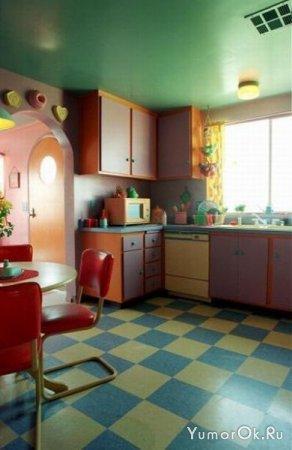 Настоящий дом Симпсонов