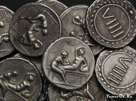 Необычные монеты