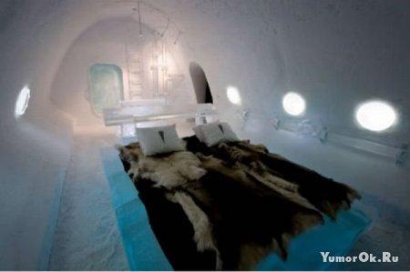 Гостиница из льда