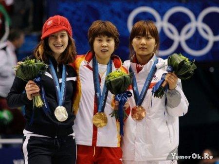 На закрытии Олимпийских игор