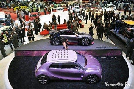 Автовыставка в Женеве
