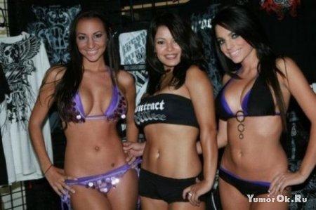 Девушки с боксёрских рингов