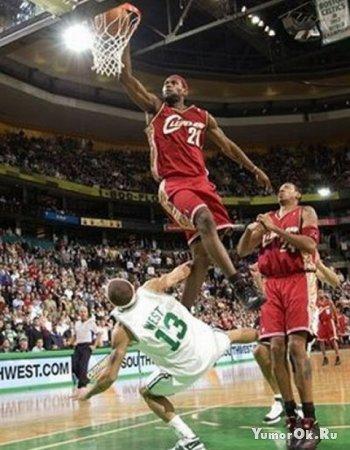 Великолепные кадры баскетбола