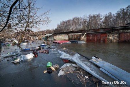Москва под водой
