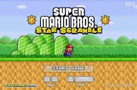 Супер Марио - Спасение острова