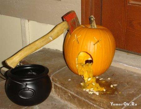 Подборка креативных тыковок на Хеллоуин