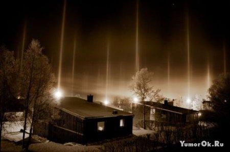 Светящиеся столбы